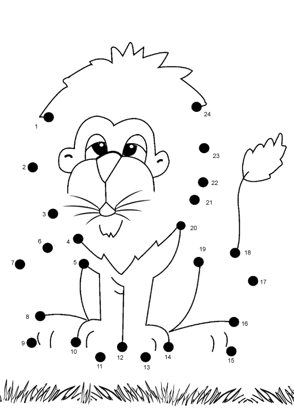 6 Best Images of Dot To Dot Printables For Kindergarten - Dot to ...Free Kids Dot to Dot Printables