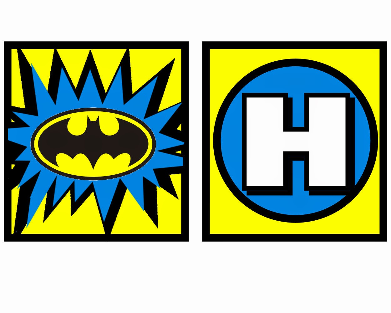 Free Printable Batman Birthday Banner