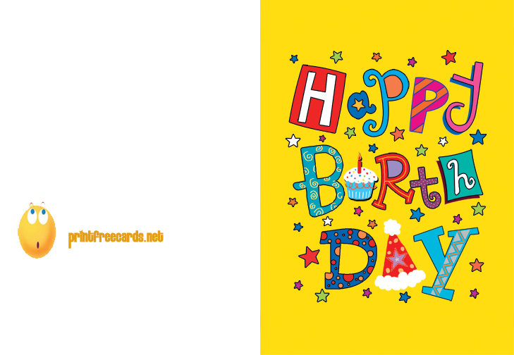Birthday Cards For Friends Printable Katinabags – Printable Best Friend Birthday Cards
