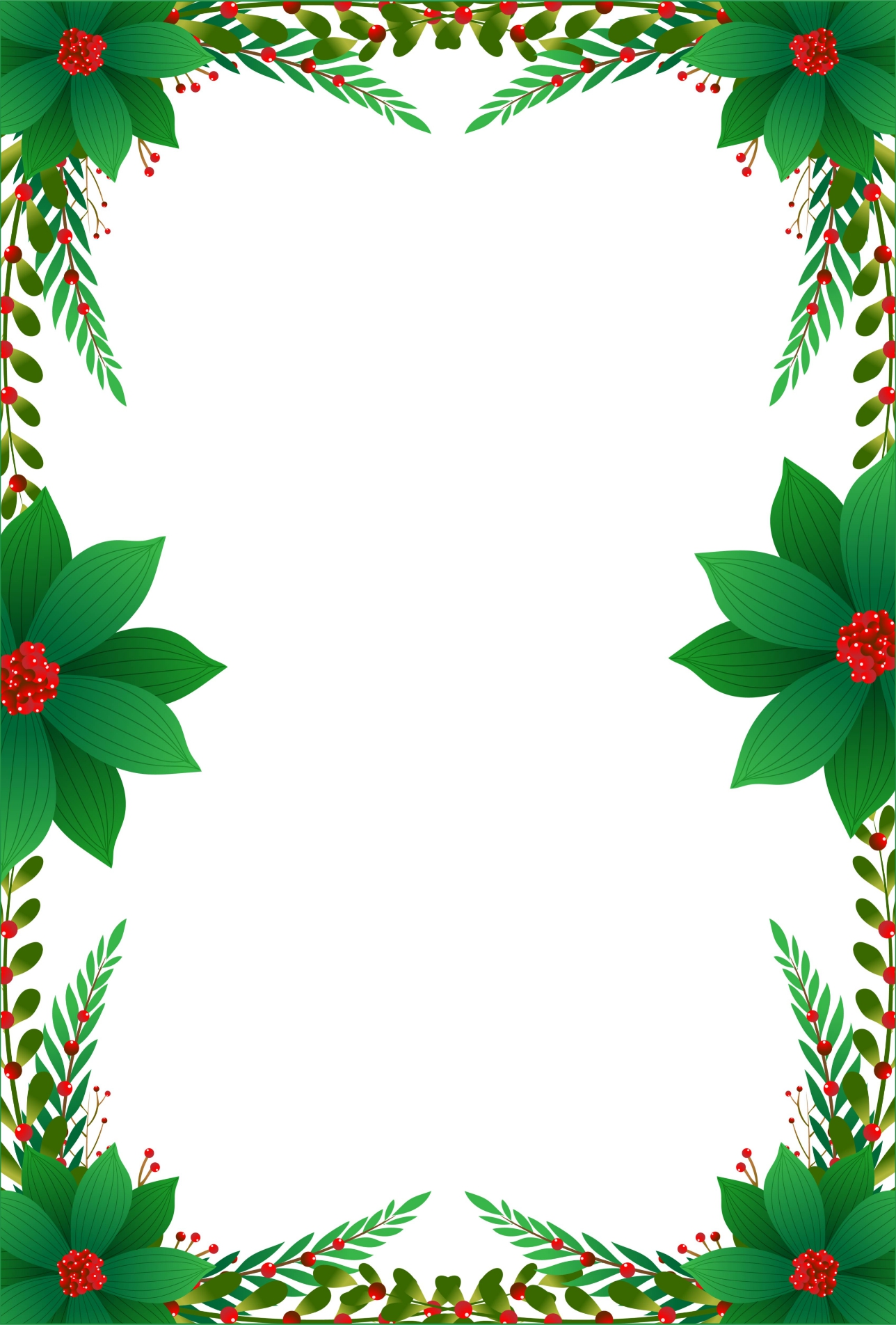 8 Images of Printable Christmas Letterhead Paper