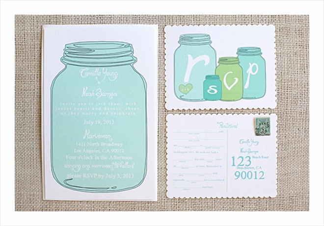 6 Images of Free Printable Mason Jars For A Wedding