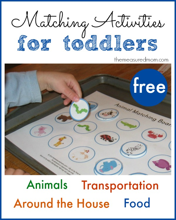 4 Images of Printable Activities For Toddlers