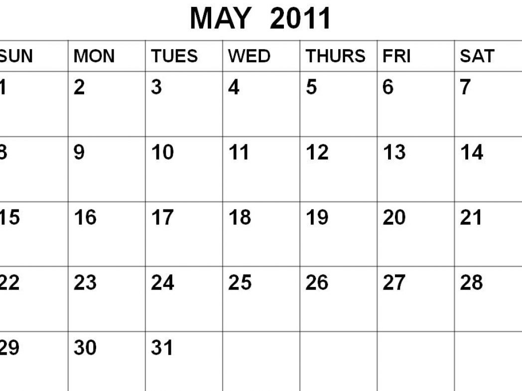 May Calendar Ilates : Best images of printable monthly calendar may