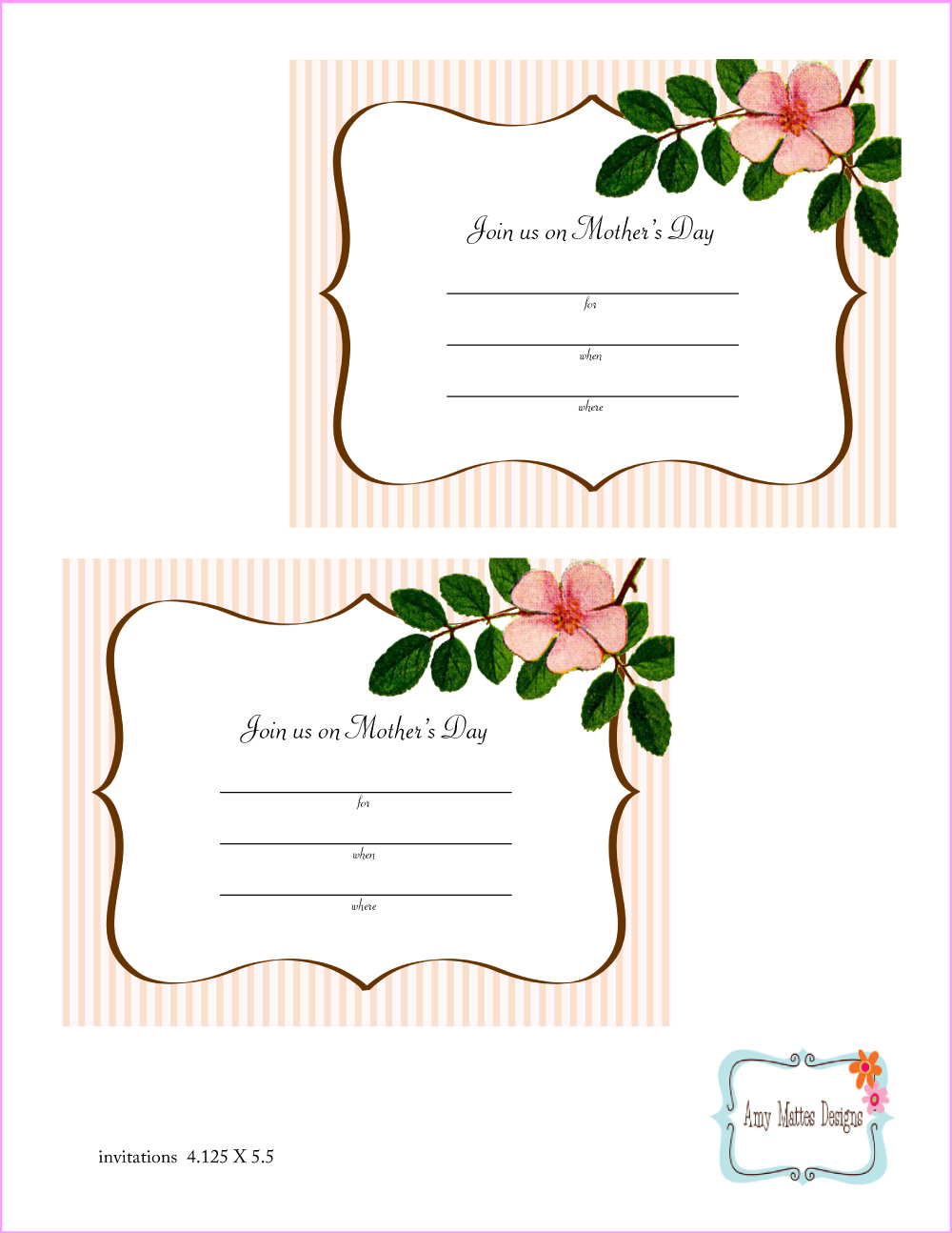 9 Images of Mother's Day Free Printables