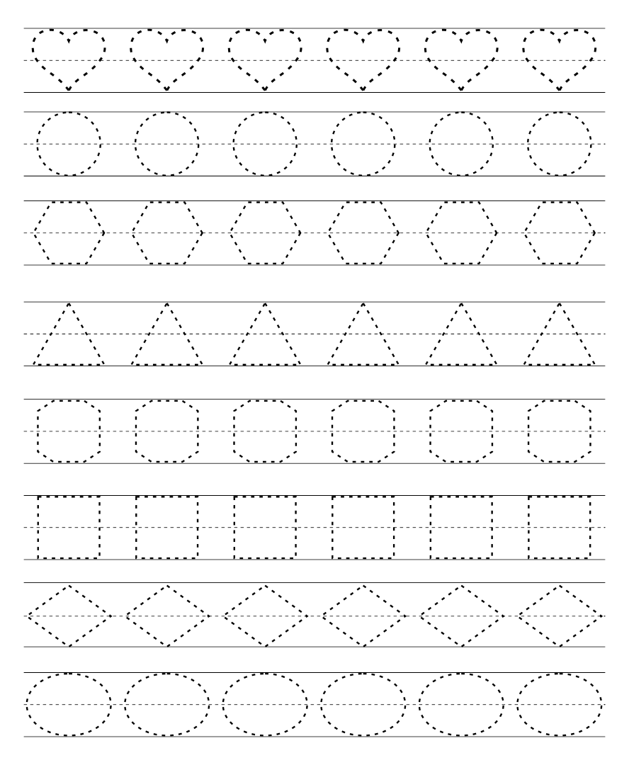 shape pattern worksheets kindergarten math shape pattern worksheets mreichert kids. Black Bedroom Furniture Sets. Home Design Ideas