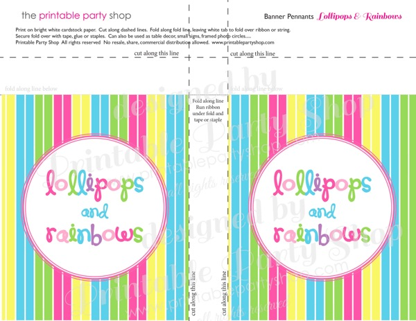 Free Printable Square Banner Templates