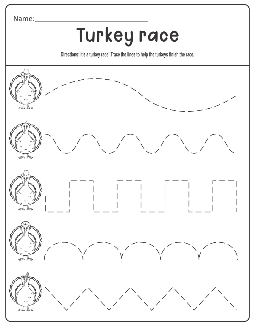 {Thanksgiving homework sheets – Kindergarten Thanksgiving Worksheets Printables