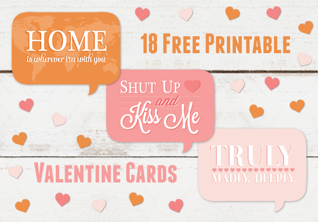 7 Images of Free Printable Valentine Cards For Husband