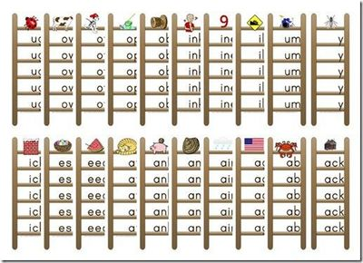4 Images of Printable Word Families List