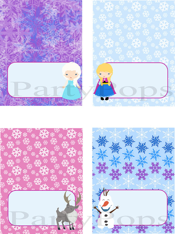 Frozen Birthday Card Printable