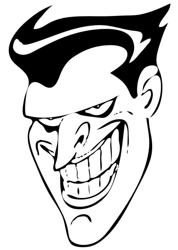 8 Best Images of Batman's Joker Printable Mask - Printable ...