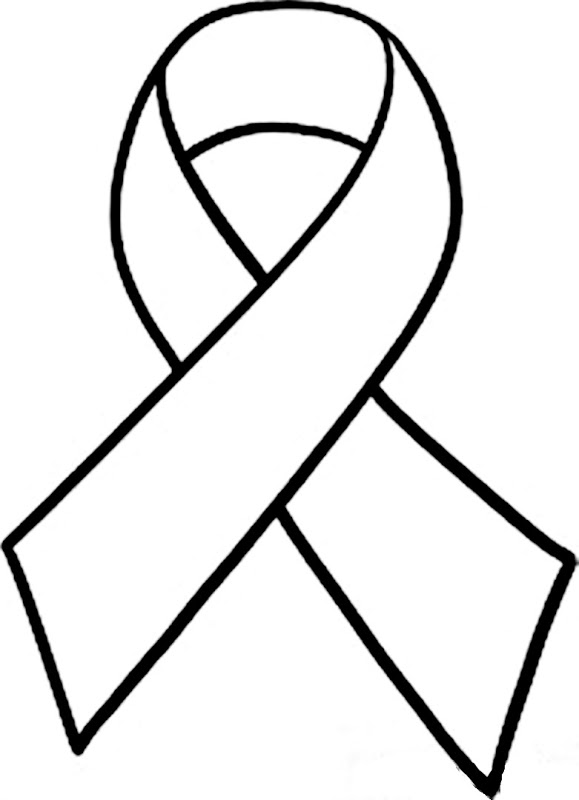 7 Images of Cancer Awareness Ribbon Template Printable