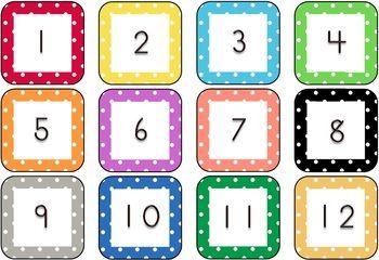 5 Best Images of Classroom Calendar Calendar Number ...