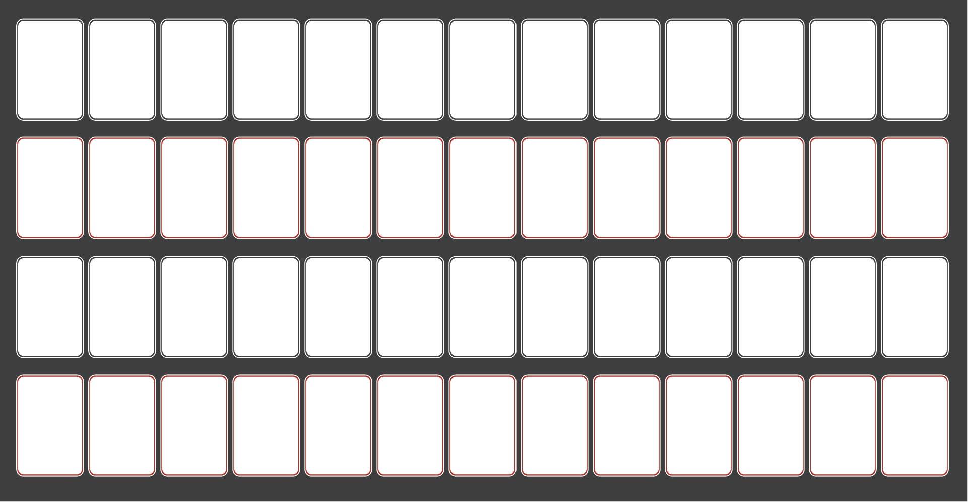 Printable Blank Playing Cards