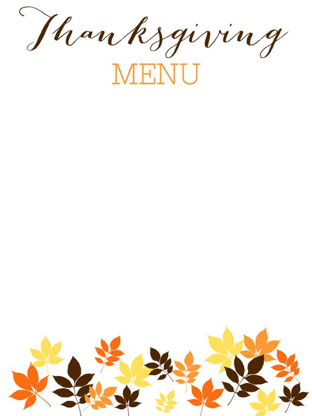 8 Images of Round Menu Card Printable Blank Templates