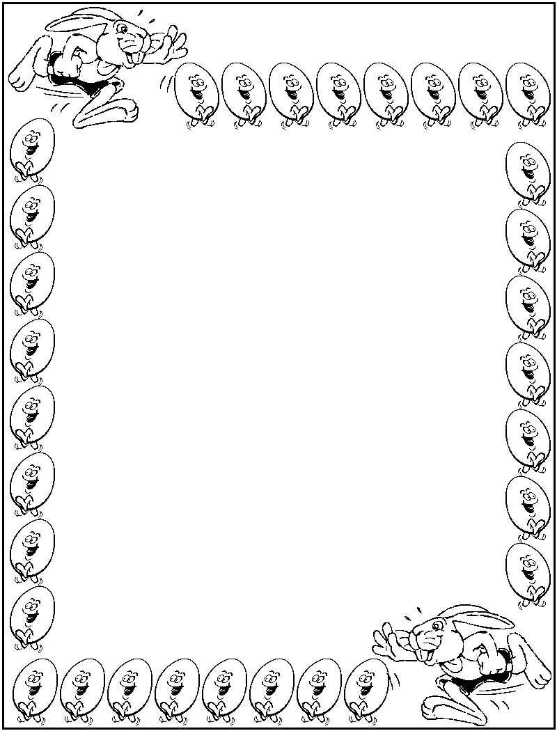 Christmas Coloring Borders Design Coloring Pages
