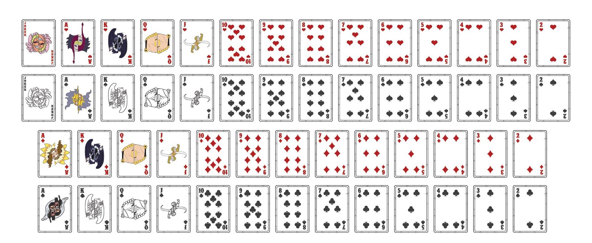 21 Best Deck Of Cards Printable - printablee.com In Deck Of Cards Template