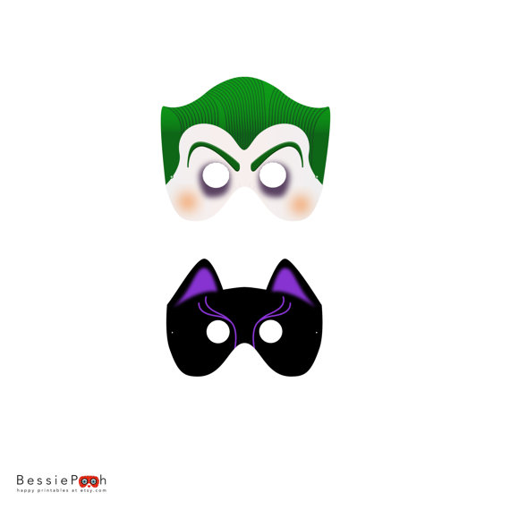 joker mask template 8 best images of batman 39 s joker printable mask printable