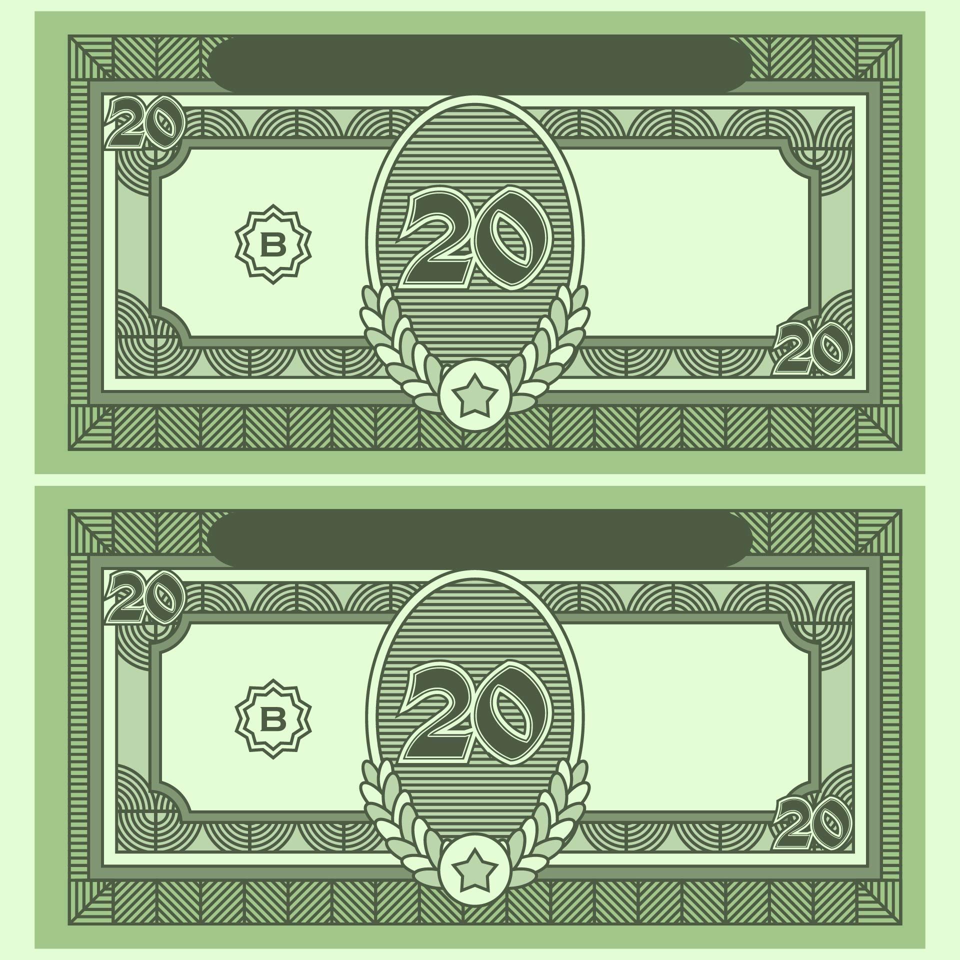 Printable Monopoly Play Money