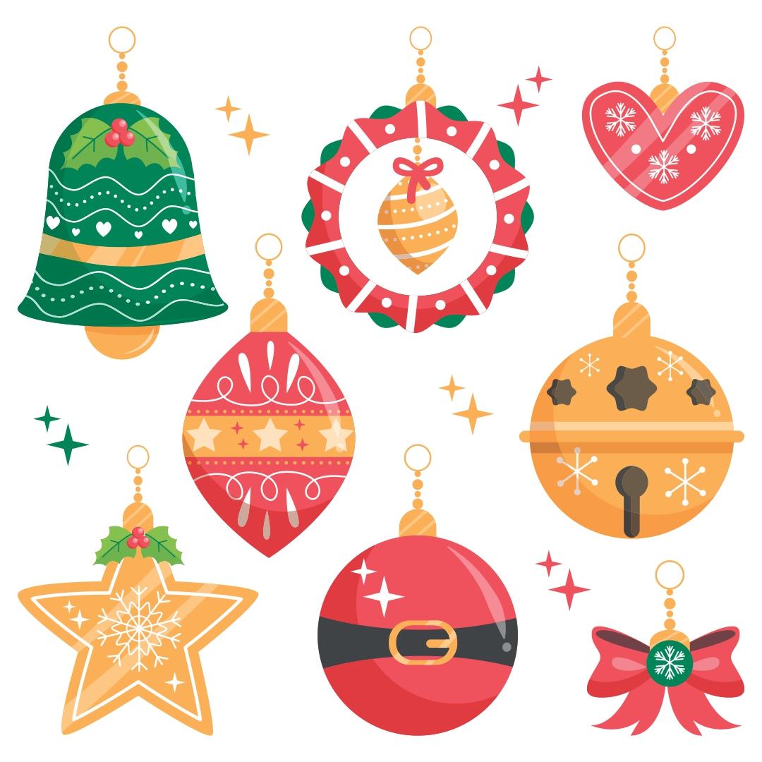 Printable Paper Christmas Tree Ornaments