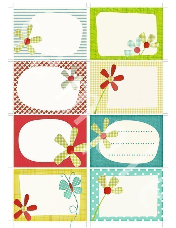 7 Images of Printable Scrapbook Journal Tags
