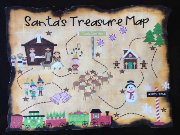 8 Images of Printable Treasure Maps With Clues