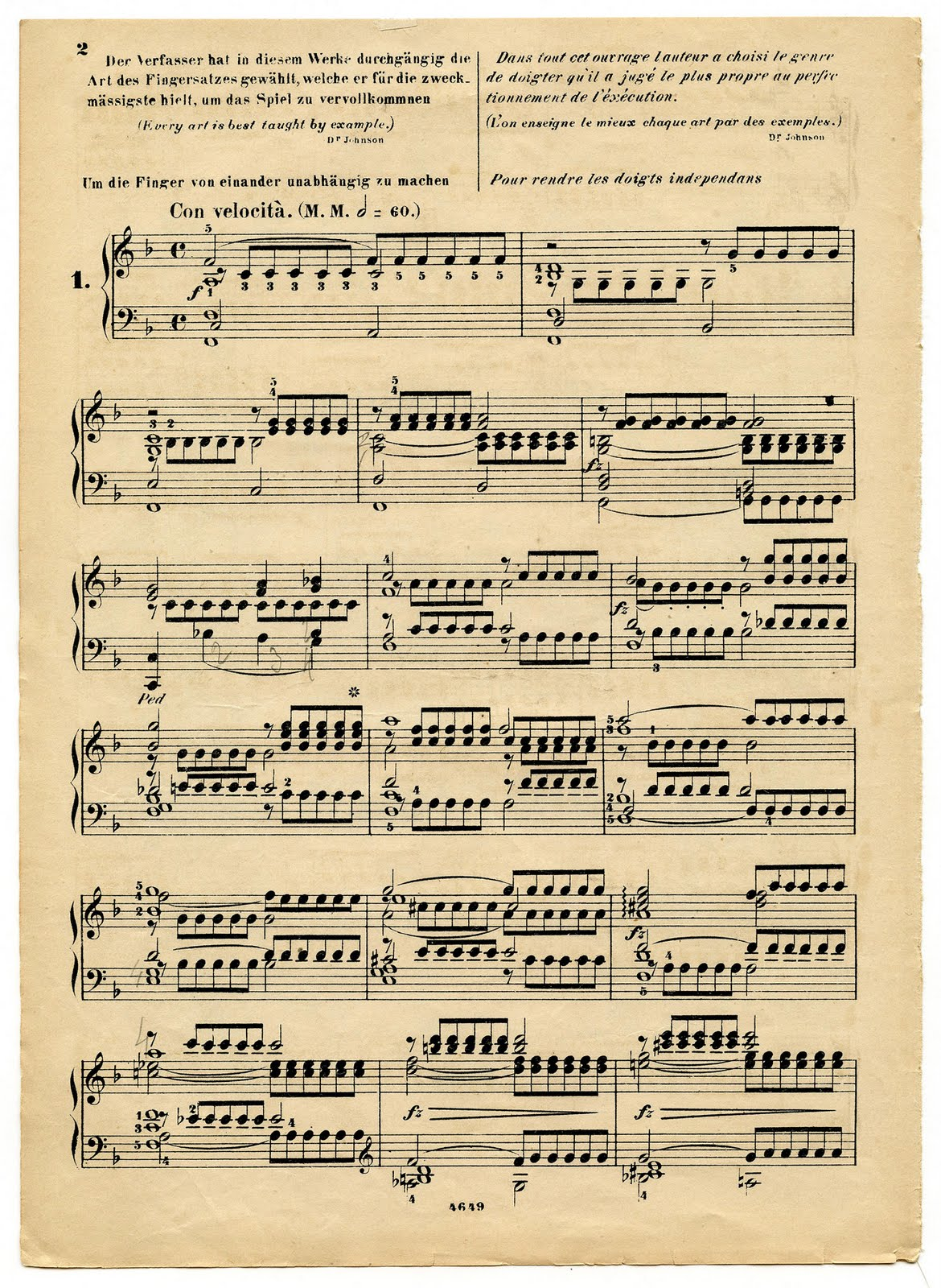 7 Images of Old Sheet Music Printables