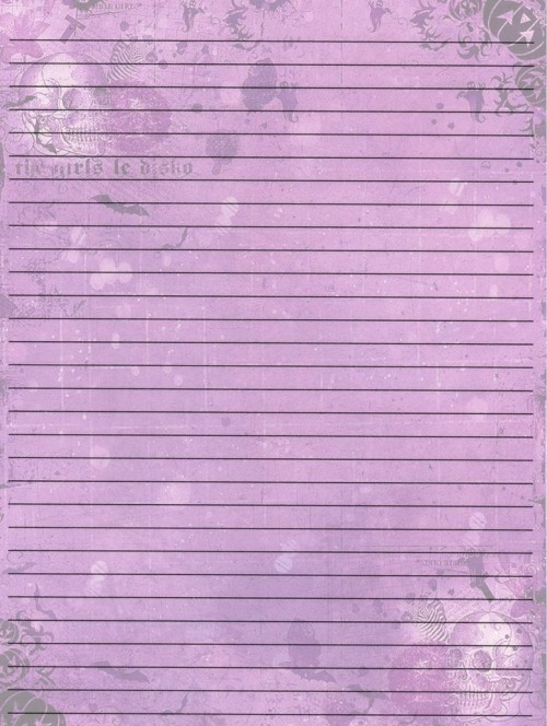 lined writing paper for kids