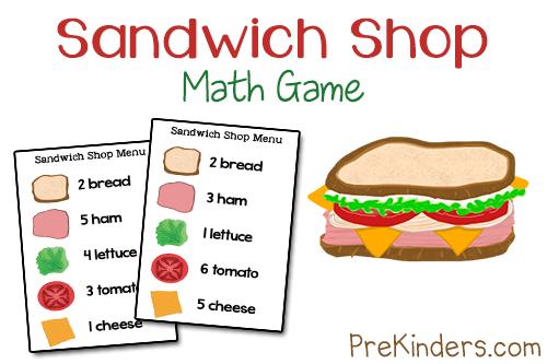 4 Images of Printable Cut Out Sandwich Pieces