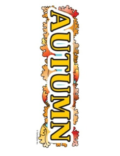 8 Images of Autumn Sign Printable
