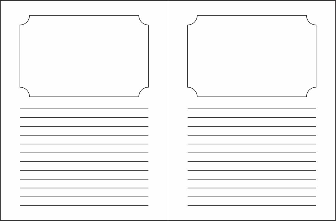 Story Book Writing Templates