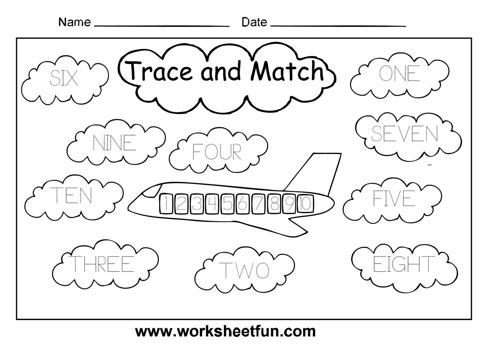 7 Best Images of Printable Number Words Worksheets ...