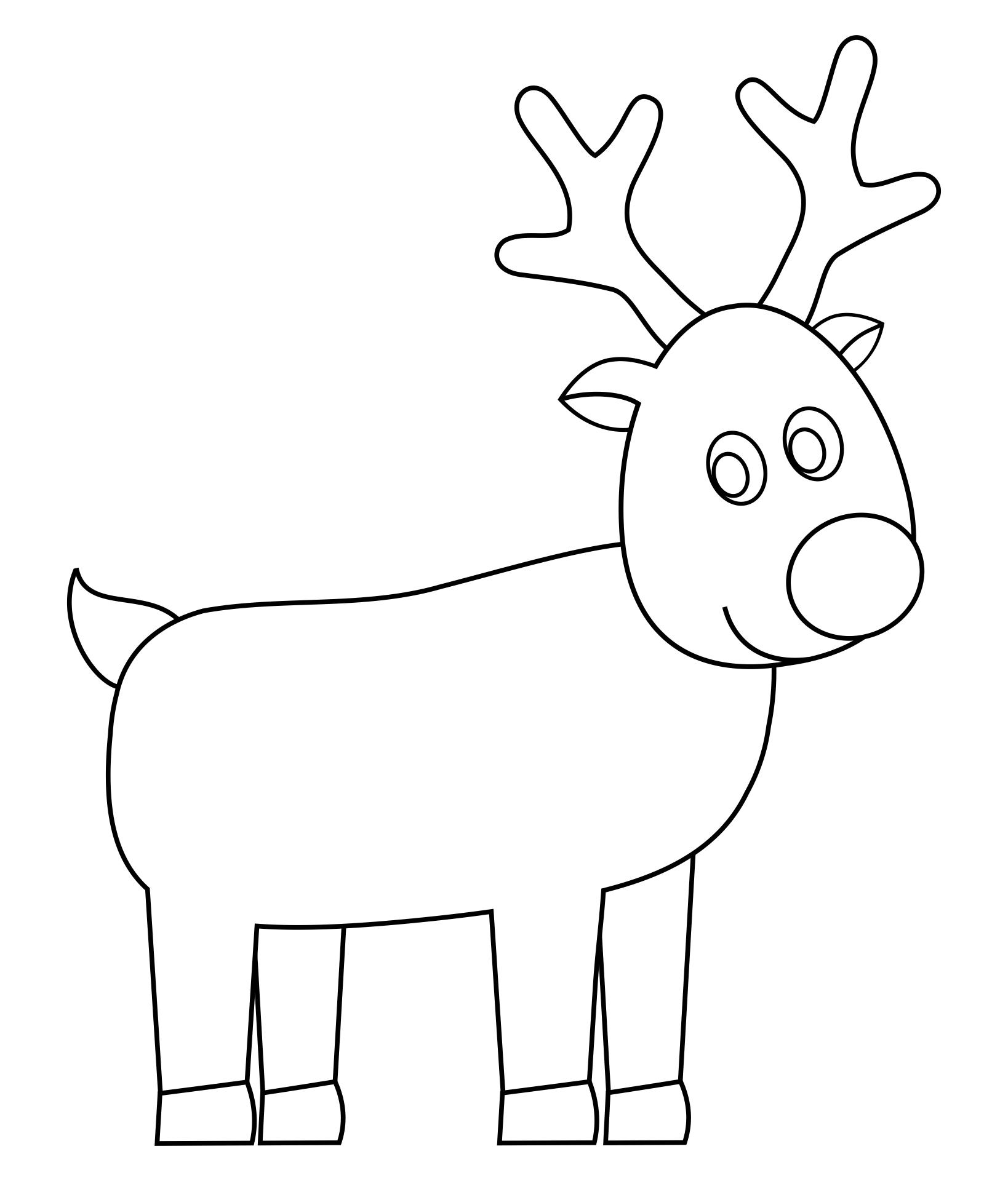 Christmas Reindeer Templates