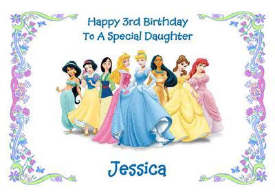 Watch more like Disney Happy Birthday Card – Princess Happy Birthday Cards