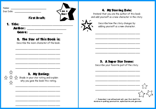 Animal Report  Instant Nonfiction Writing Frame    Printables Sample Customer Service Resume