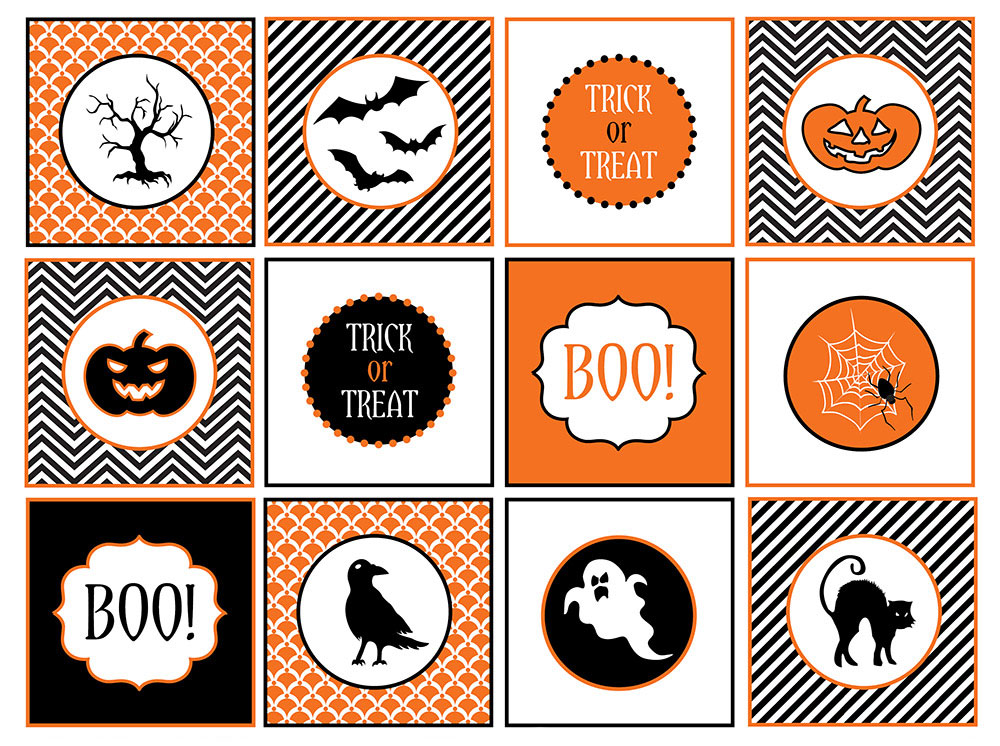 6 Images of Halloween Printable