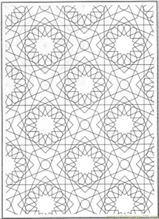 4 Images of Free Printable Patterns To Color