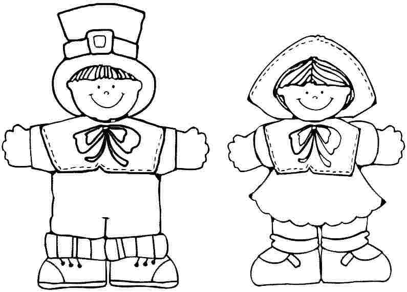 free thanksgiving indian coloring pages - 5 best images of pilgrim coloring pages printable