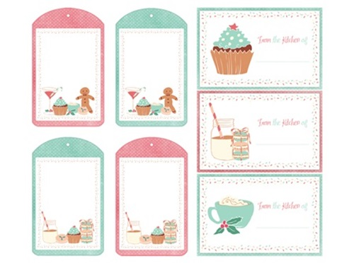 7 Images of Free Printable Cookie Tags