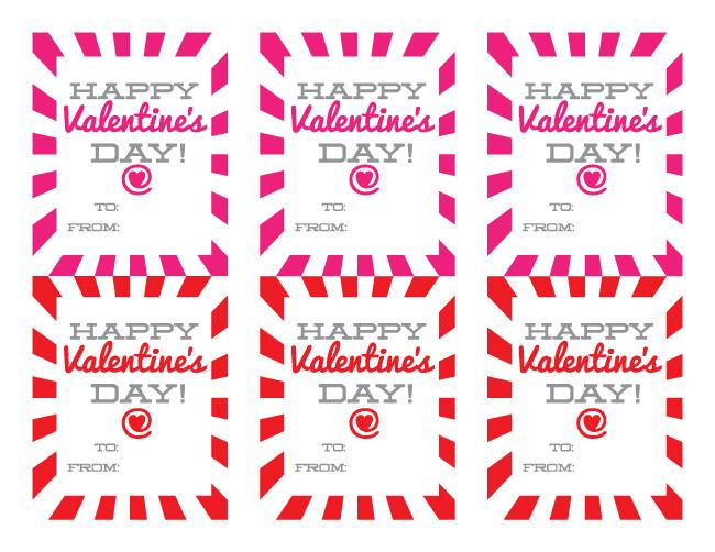 Free Printable Happy Valentine's Day