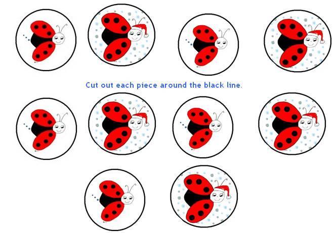 9 Images of Ladybug Free Printable Game