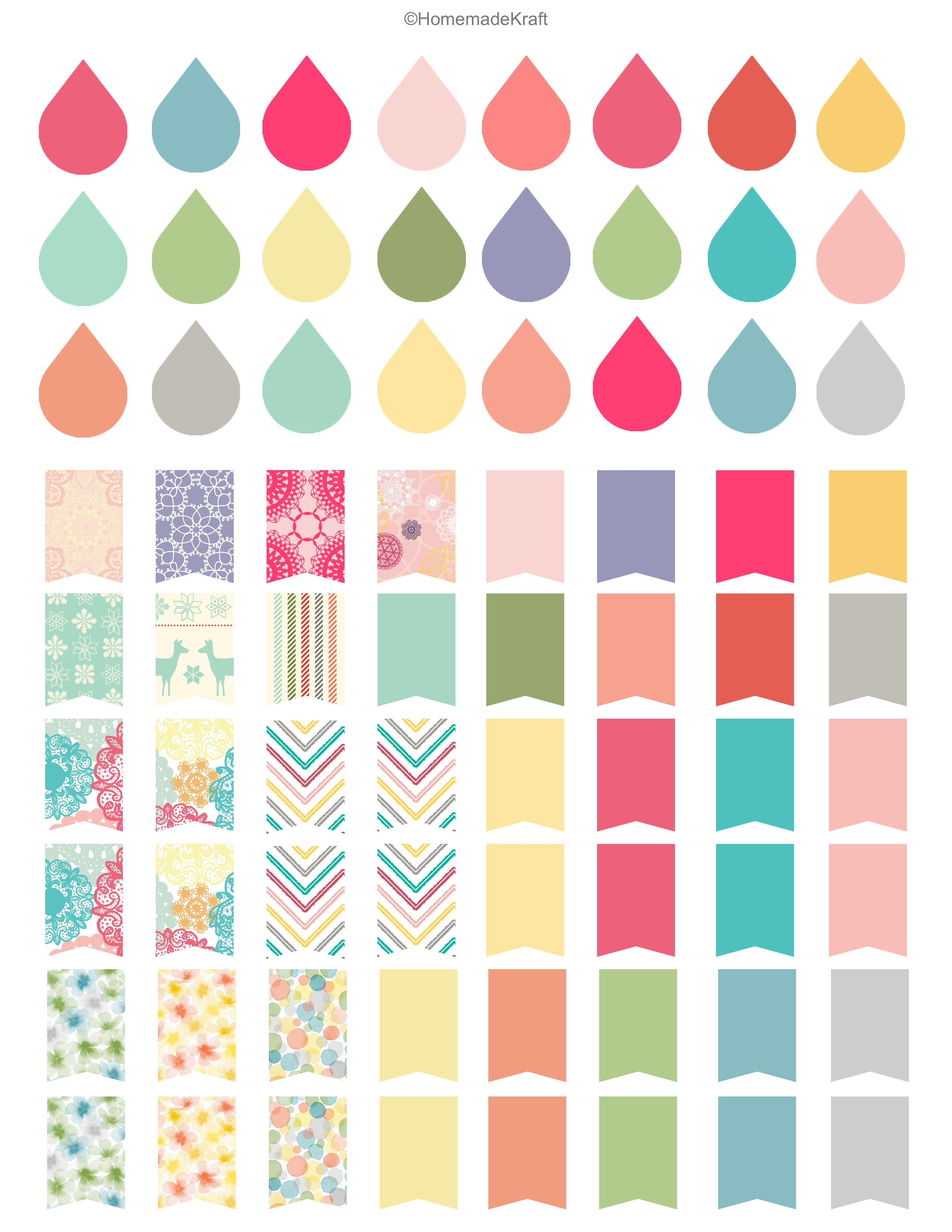 5 Images of Planner Free Printable Fall Stickers