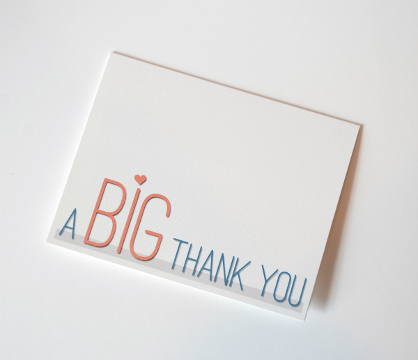 5 Images of Thank You Card Templates Printable Free