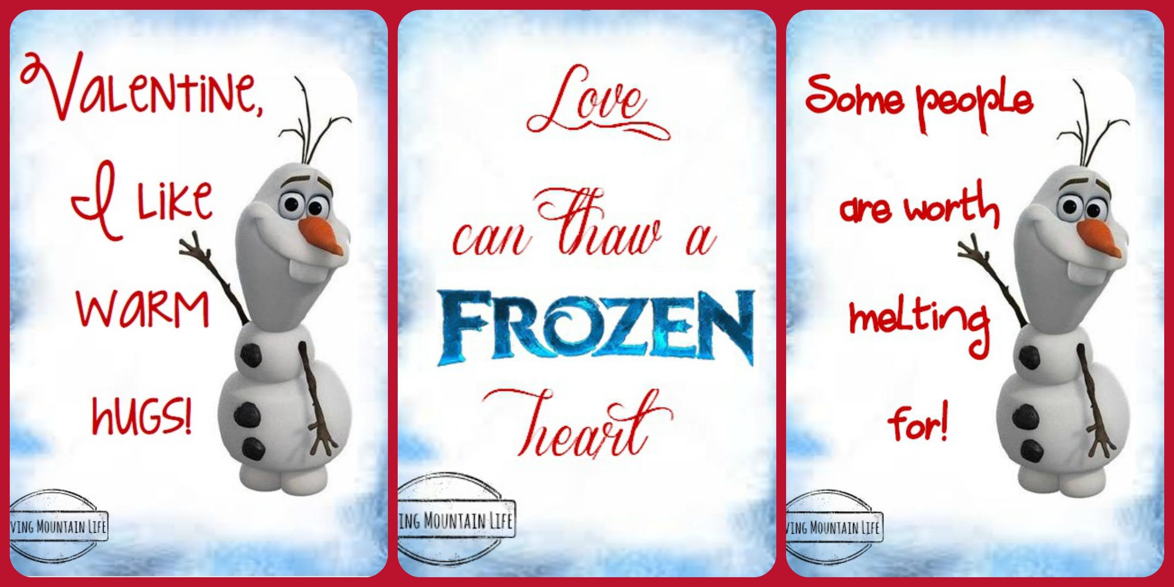6 Images of Disney Monster Valentine Printables