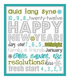 6 Images of New Year's Subway Printables