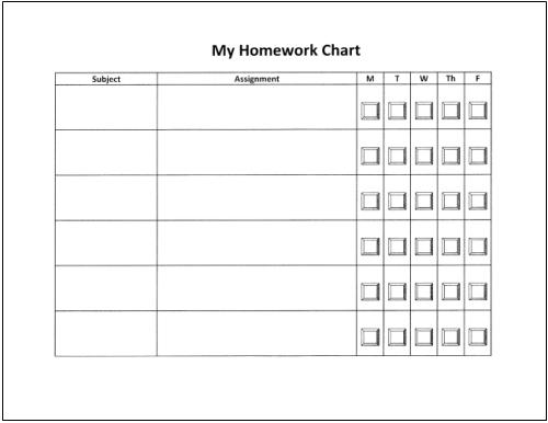 Editable Homework Assignment Sheet Worksheet Essay for you – Assignment Sheet Template