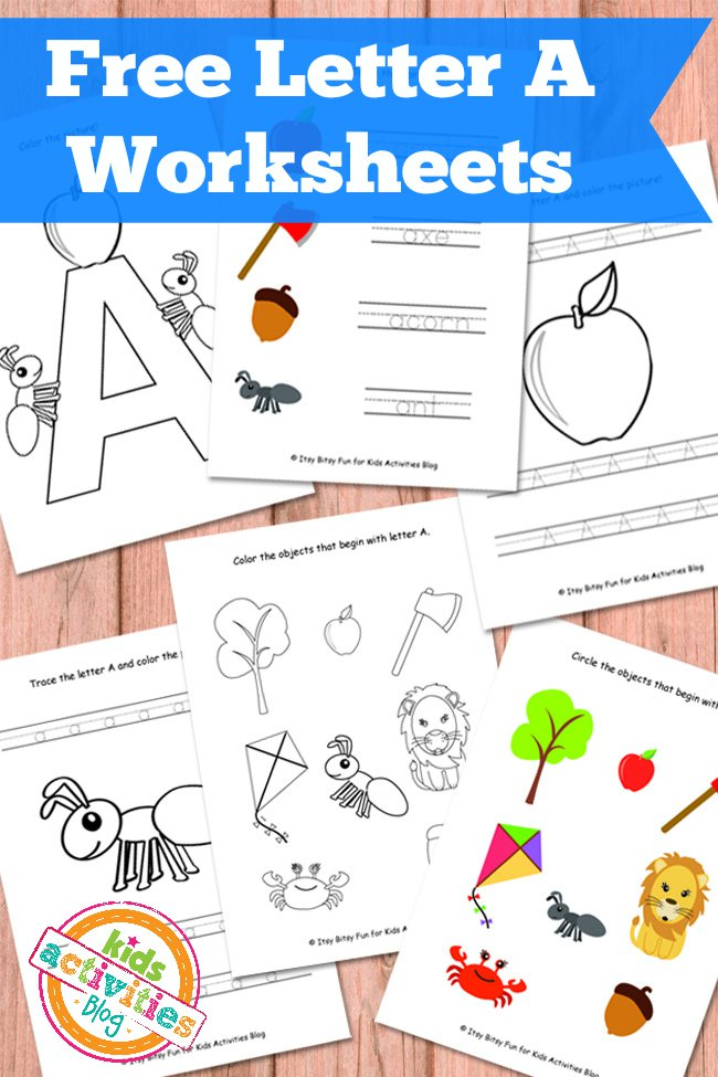 6 Best Images of Printable Worksheet Letter A Ants - Ants ...