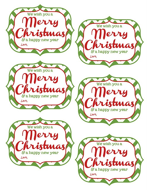 4 Images of Happy New Year Tags Printable