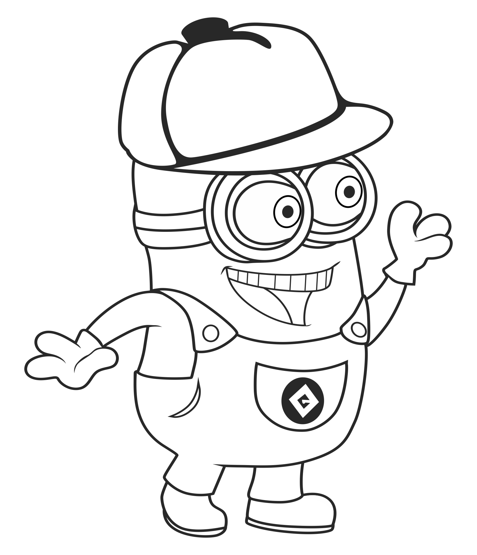 8 Images of Easter Printable Coloring Pages Minions