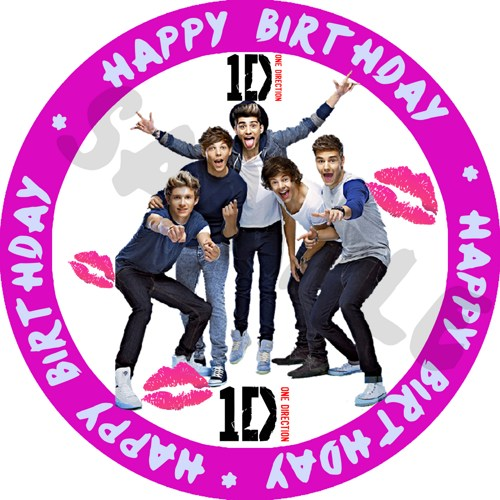 7 Images of One Direction Birthday Printables